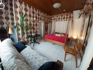 50's, bed and breakfast, finland, room, vintage, retro, honey